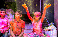 Holi  in India--Fun, Color, and Chaos